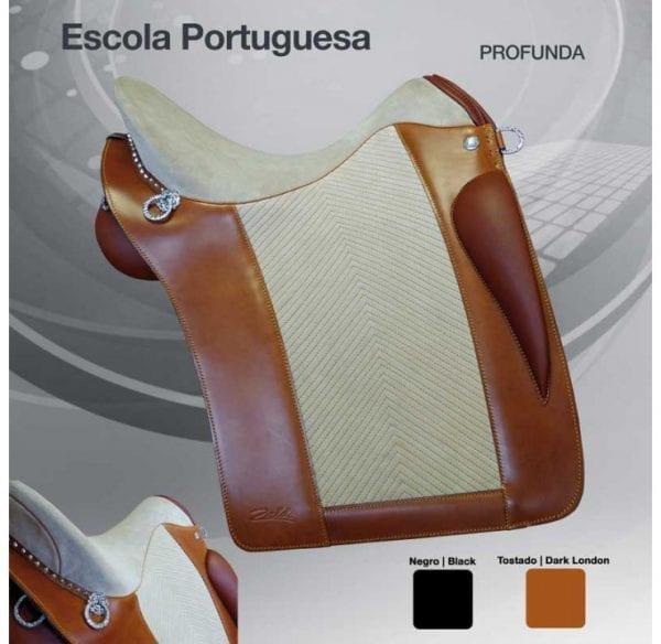selle cheval portugaise Zaldi Escola couleur