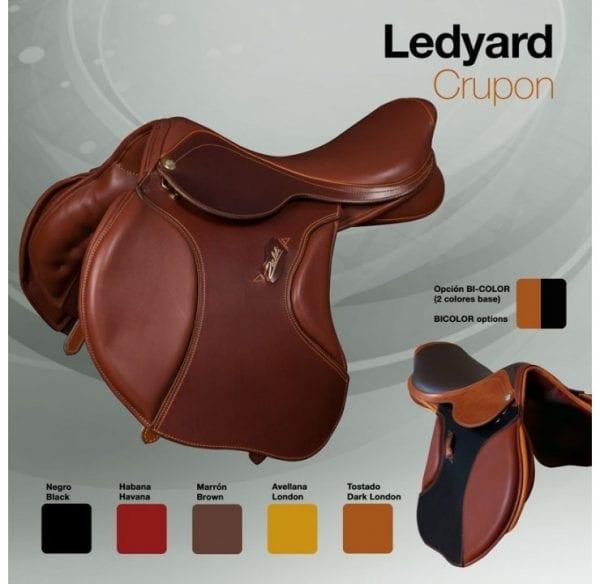 Selle de cheval CSO Zaldi Ledyard couleurs