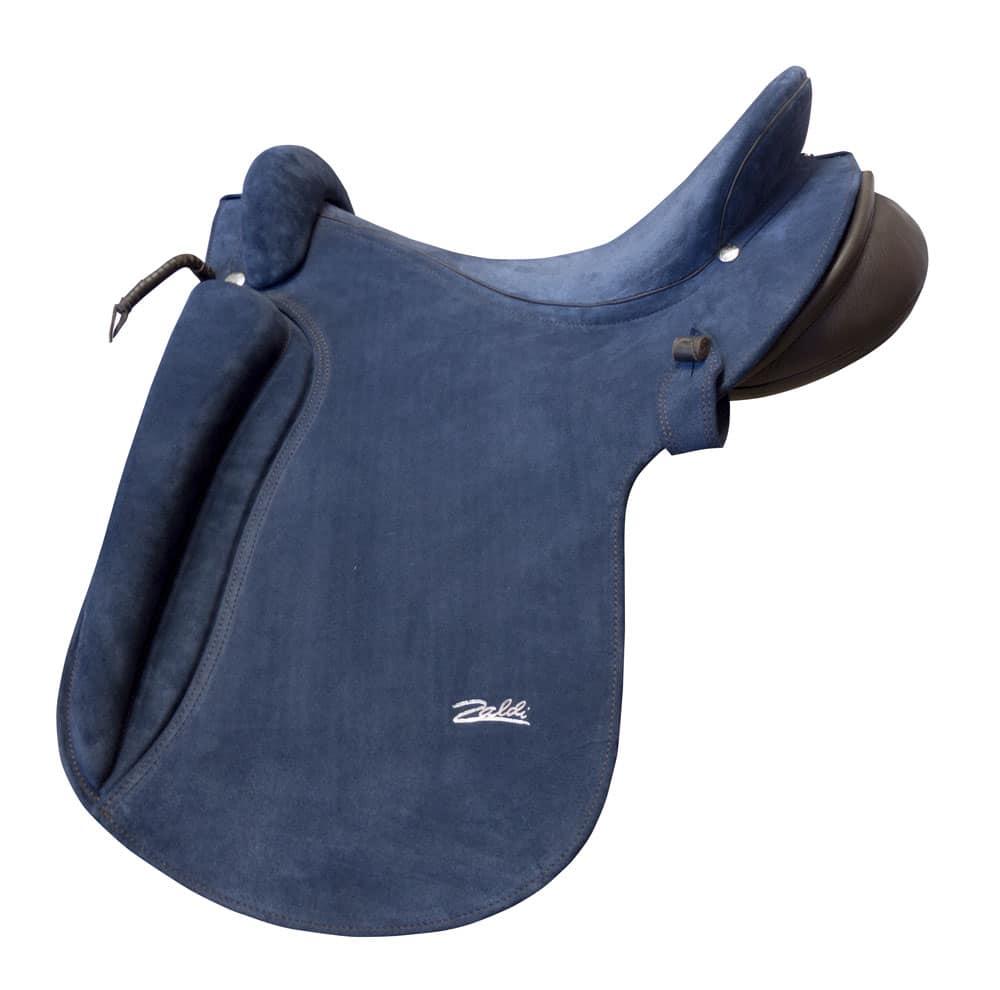 selle de cheval ibérique Altras bleue