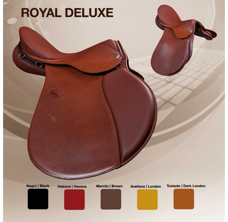 Selle cheval Royal Deluxe couleur