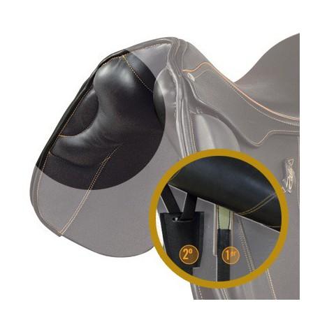 arçon, panneau anatomique pour selle de cheval et sanglon élastique ZALDI