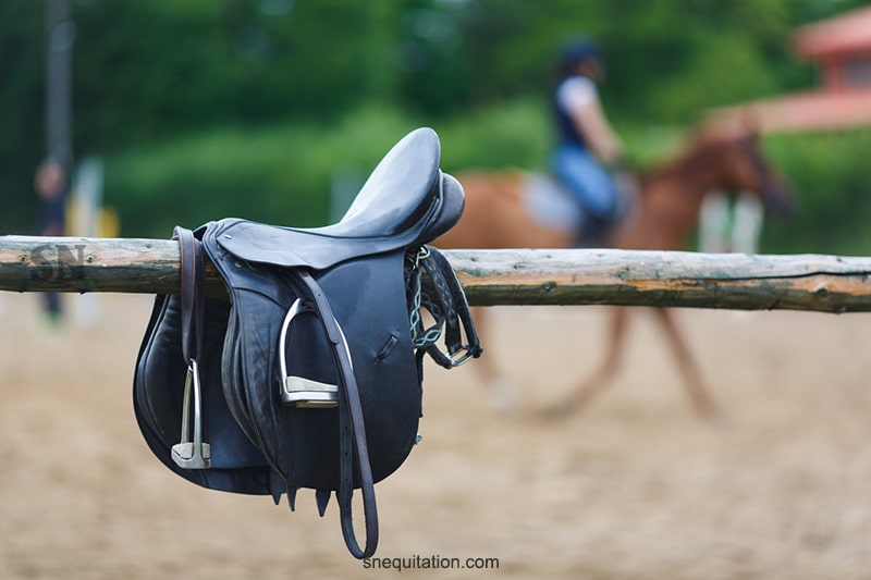 Quelles sont les parties et la composition d'une selle de cheval ?