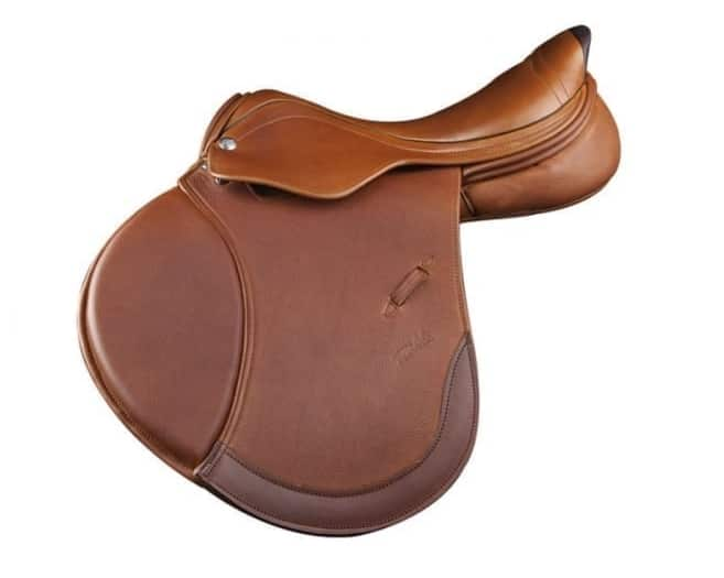 Selle de cheval pour saut obstacle cso Zaldi STAR 2G